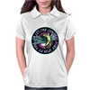 ICARUS THROWS THE HORNS - lavendar circle Womens Polo