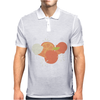 Ice cream and orange pattern Mens Polo