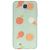 Ice cream and orange pattern Phone Case