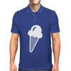 Ice Cream Cone Funny Mens Polo