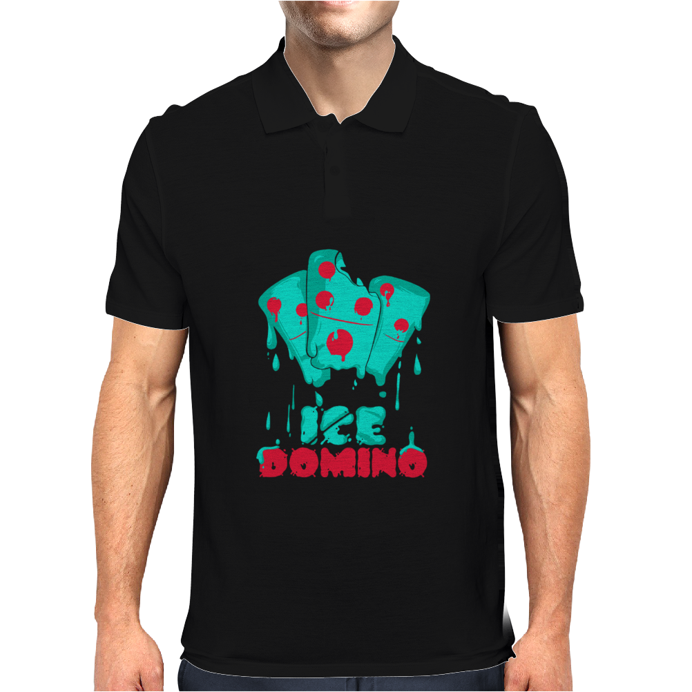 Ice Domino Mens Polo