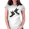 Ice hockey skates Womens Fitted T-Shirt