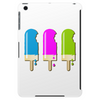 ice lolly popsicle light blue pink green Tablet