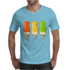 ice lolly popsicle orange yellow green Mens T-Shirt