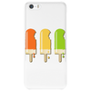 ice lolly popsicle orange yellow green Phone Case