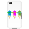 ice lolly popsicle sunglasses light blue pink green Phone Case