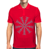 Ice Snowflake Mens Polo