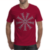Ice Snowflake Mens T-Shirt