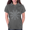 Ice Snowflake Womens Polo