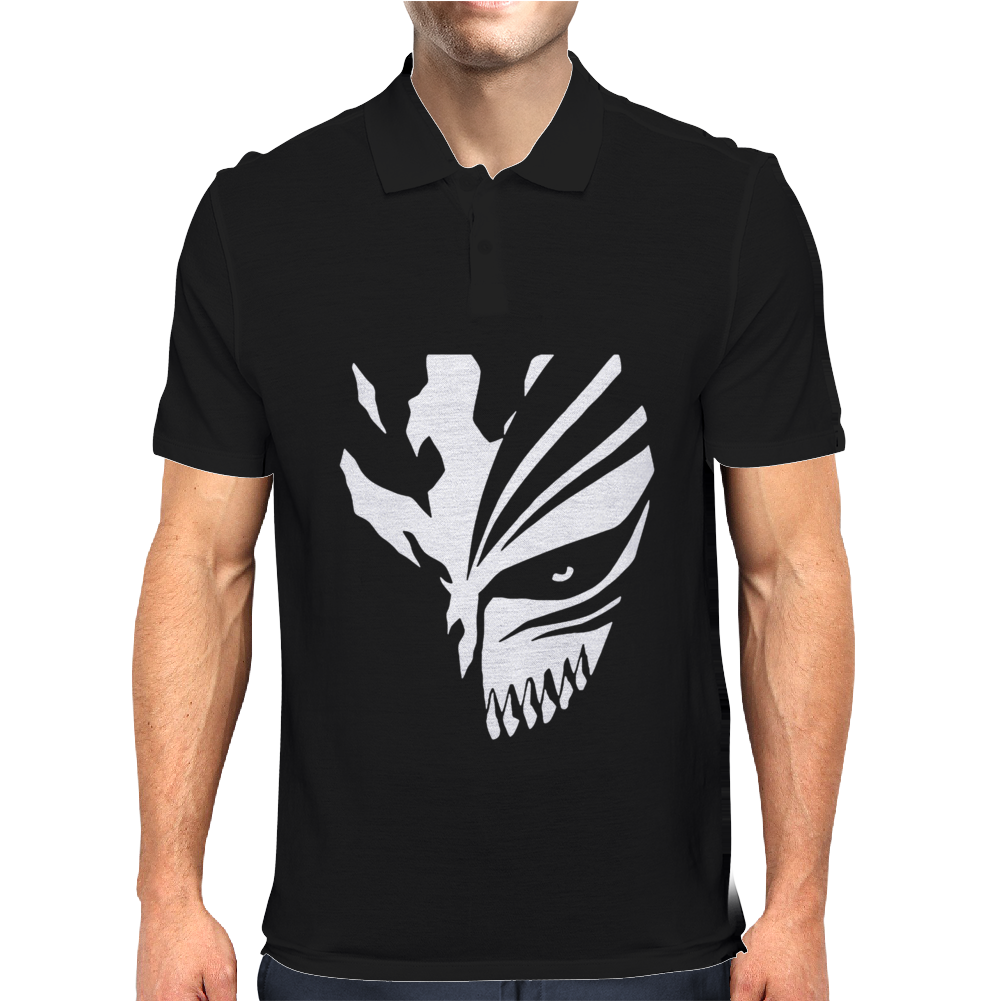 Ichigo Hollow Mask Bleach Mens Polo