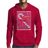 Iconic Christmas Candy Cane Mens Hoodie