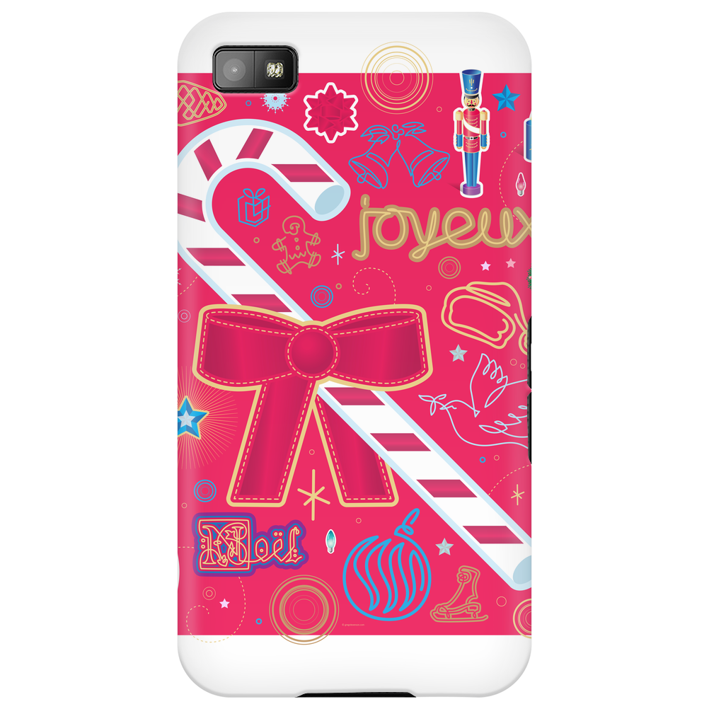 Iconic Christmas Candy Cane Phone Case