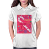 Iconic Christmas Candy Cane Womens Polo