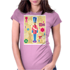 Iconic Christmas Nutcracker Womens Fitted T-Shirt