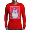 Iconic Christmas Snowman Mens Long Sleeve T-Shirt