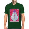 Iconic Christmas Snowman Mens Polo