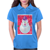 Iconic Christmas Snowman Womens Polo