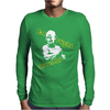 I'd Fight Gandhi Fight Club David Fincher Mens Long Sleeve T-Shirt