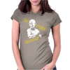 I'd Fight Gandhi Fight Club David Fincher Womens Fitted T-Shirt
