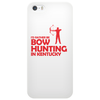 i'd rather be bow hunting in kentucky Phone Case