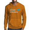 I'D Rather Be In Iceland Mens Hoodie