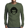 identica monkey Mens Long Sleeve T-Shirt