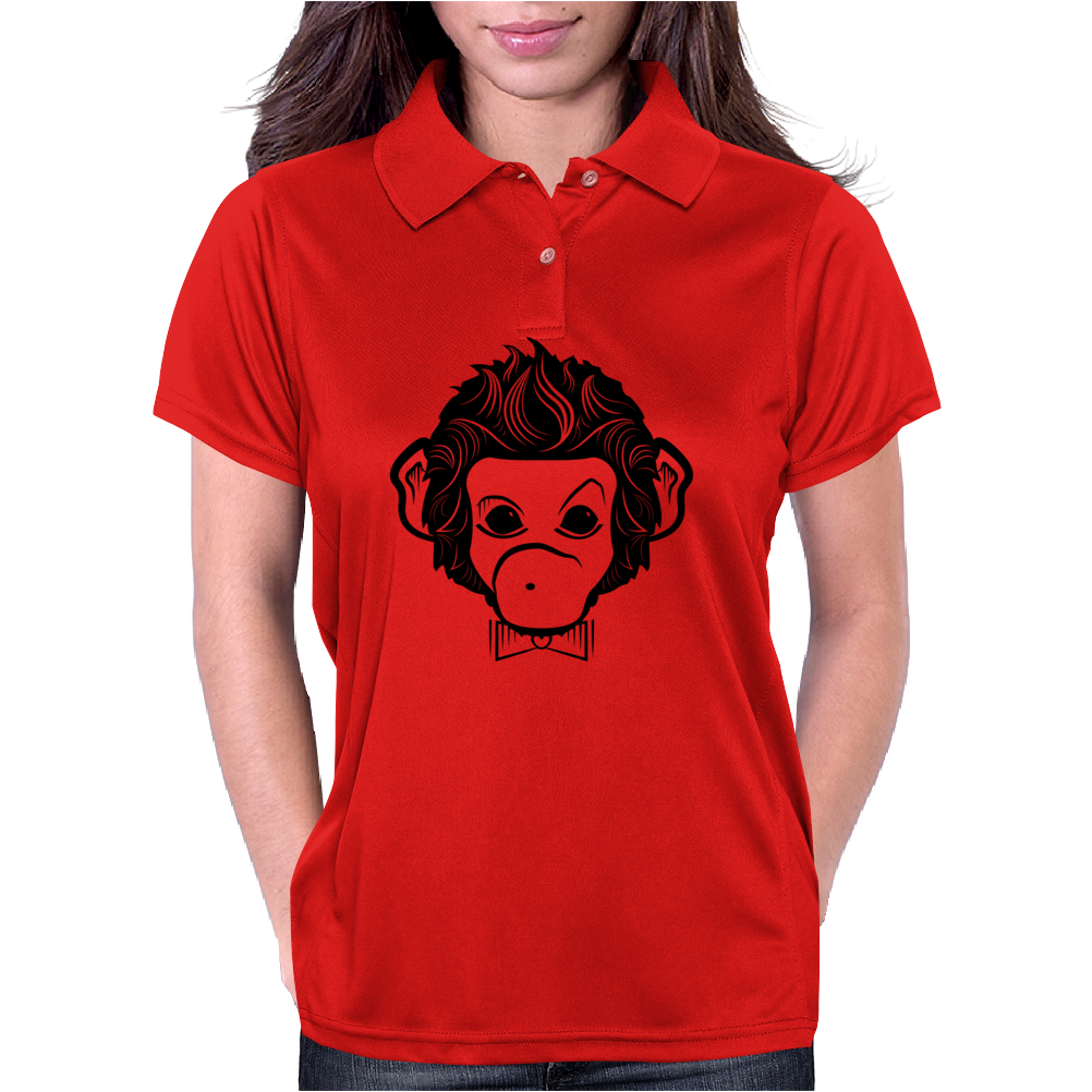 identica monkey Womens Polo