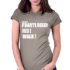 If Daryl Dixon Dies I walk White Womens Fitted T-Shirt