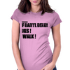 If Daryl Dixon Dies I walk Womens Fitted T-Shirt