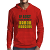 IF LOST PLEASE RETURN TO AARON RODGERS Mens Hoodie