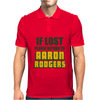 IF LOST PLEASE RETURN TO AARON RODGERS Mens Polo