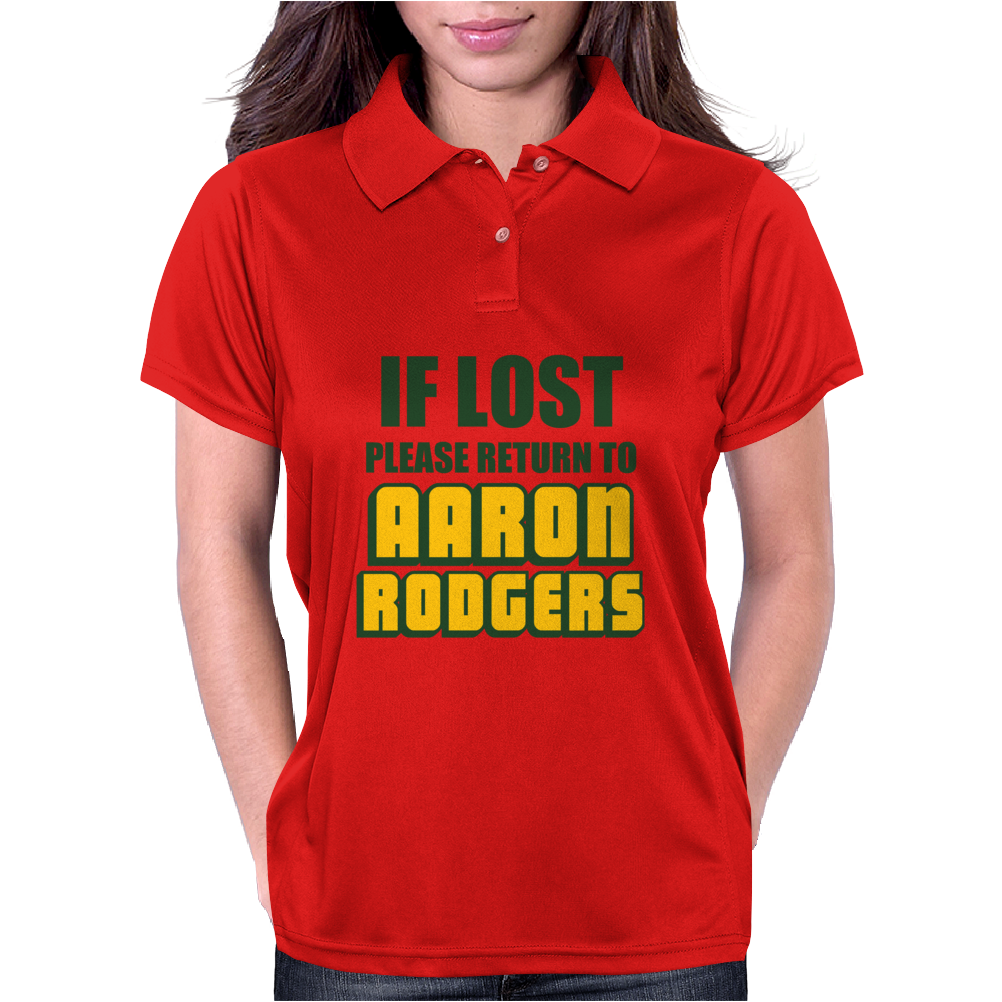 IF LOST PLEASE RETURN TO AARON RODGERS Womens Polo