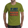 IF LOST PLEASE RETURN TO PEYTON MANNING Mens T-Shirt