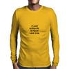 If Lost Return To Nearest Wine Bar Mens Long Sleeve T-Shirt