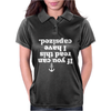 If You Can Read This I Have Capsized Womens Polo