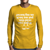If You Can Read This Put Me Back On My Horse Mens Long Sleeve T-Shirt