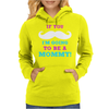 If You Mustache I'm Going To Be A Mommy Womens Hoodie