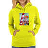 Iggy Pop in Candyland Womens Hoodie