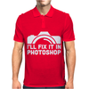 I'll Fix It In Photoshop Mens Polo