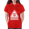 Illuminati Eye Hipster Womens Polo