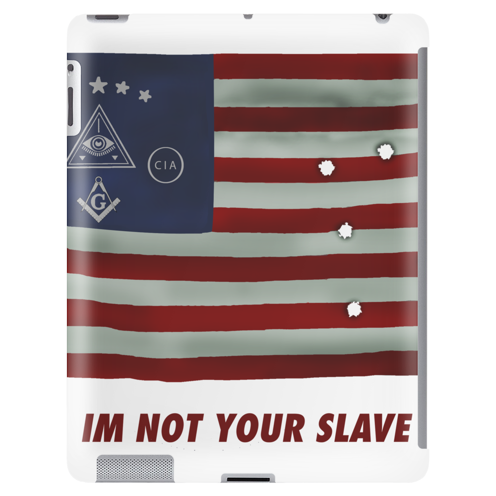 Illuminati Flag Tablet (vertical)