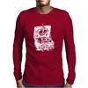 Illustrated Cotton Mens Long Sleeve T-Shirt