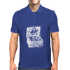 Illustrated Cotton Mens Polo