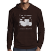 I'm a Drummer Please Shout Mens Hoodie