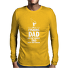 I'M A FISHING DAD - Daddy Mens Long Sleeve T-Shirt