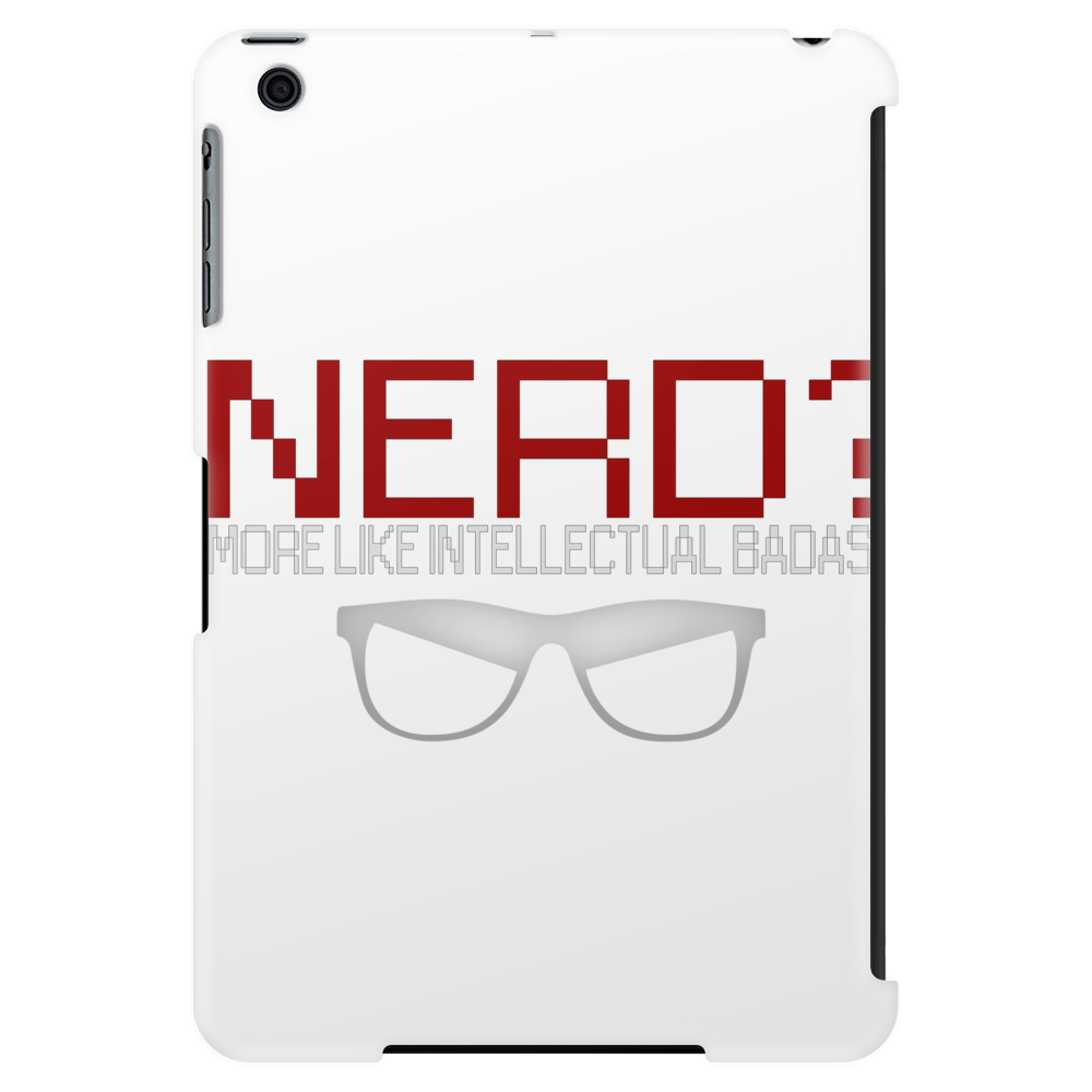 I'm a nerd Tablet (vertical)