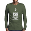 I'M A SKIING DAD - Daddy Mens Long Sleeve T-Shirt