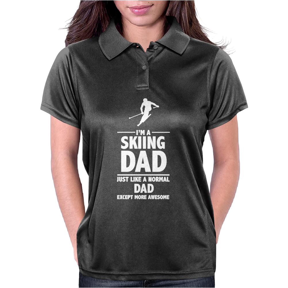 I'M A SKIING DAD - Daddy Womens Polo