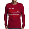 I'm An Ass Hole @sshole Funny Mens Long Sleeve T-Shirt