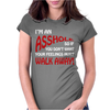I'm An Ass Hole @sshole Funny Womens Fitted T-Shirt